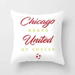 Chicago Bravo Throw Pillow