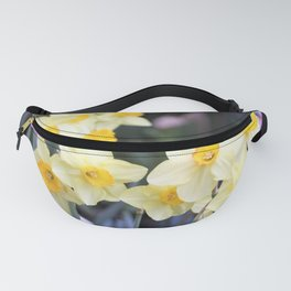 Yellow Daffodil Flowers Fanny Pack