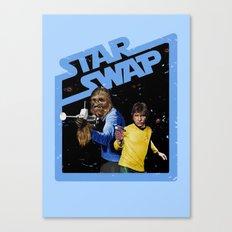 Star Swap Canvas Print