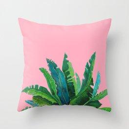 pink sky Throw Pillow