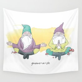 Gnome-a-ste Wall Tapestry