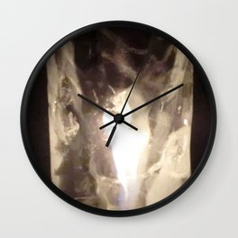 Fire from Ice - FredPereiraStudios.com_Page_23 Wall Clock