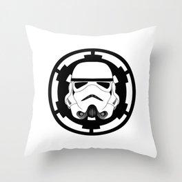 Trooper Helmet SW Episodes VI,V&VI Throw Pillow