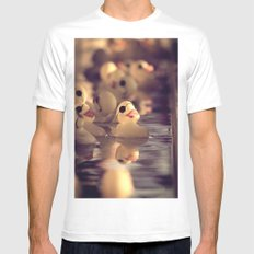 Rubber Ducky You're The One White MEDIUM Mens Fitted Tee