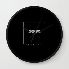 kenny (black) Wall Clock