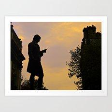 Trinity College Sunset Art Print