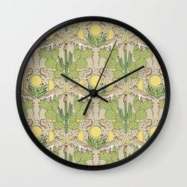 Desert Wallpaper Wall Clock