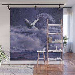 Having a whale of a time Wall Mural