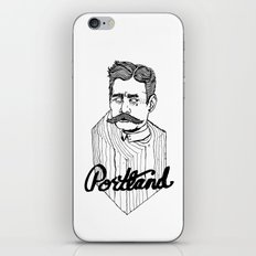 Ode to Portland II  iPhone & iPod Skin