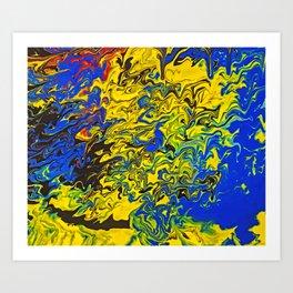 Collision II Art Print