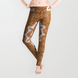 Colored Pencil Mandala 2 Leggings