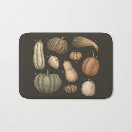 Pumpkins and Gourds Bath Mat