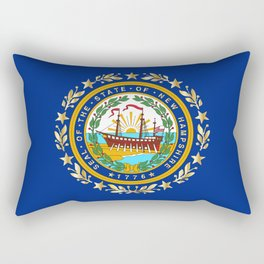 New Hampshire State Flag Rectangular Pillow