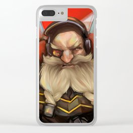Torbjorn Clear iPhone Case