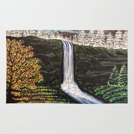Wonder Waterfall Rug