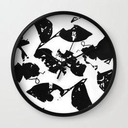 2020 Fall/Winter 12 White Wall Clock