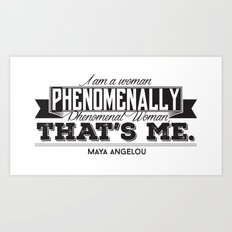 Phenomenal! Art Print