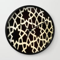 morocco Wall Clocks featuring Morocco by Mirabella Market