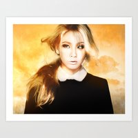 2ne1 Art Prints featuring Ciel 2ne1 kpop fanart by LC_Korim