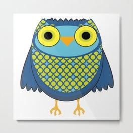 Blue Owl Metal Print