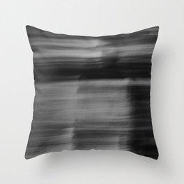 Grey Days Throw Pillow