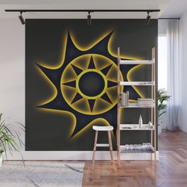 Solar Eclipse Wall Mural