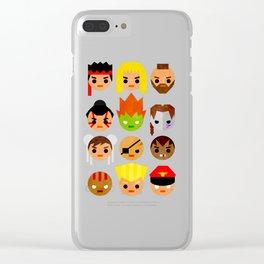 Street Fighter 2 Mini Clear iPhone Case