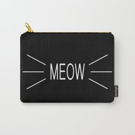 You're The Cat's Meow Carry-All Pouch