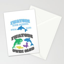 Iwatobi - Dolphin Stationery Cards