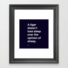 sheeple Framed Art Print