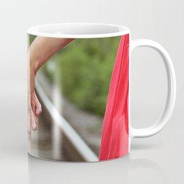 Holding Hands And Engaged Coffee Mug