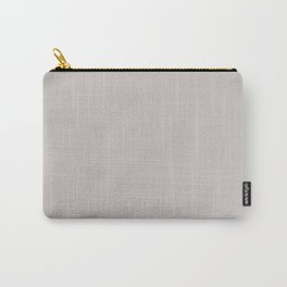 PLAIN SOLID LIGHT GREY  COLOR FOR COMPLIMENTARY PATTERNS Carry-All Pouch