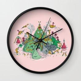 The Owl Land Wall Clock