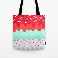 cupcake Tote Bags featuring Cupcake by Kakel