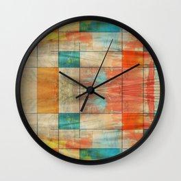 Mid-Century Modern Art - Graffiti 5.2M Wall Clock