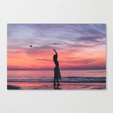 Sunrise Part 1 Canvas Print