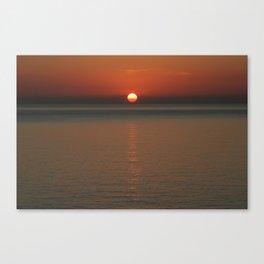 Sunrise at Taormina  Canvas Print