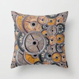 IRON&EMOTION's 45s Throw Pillow