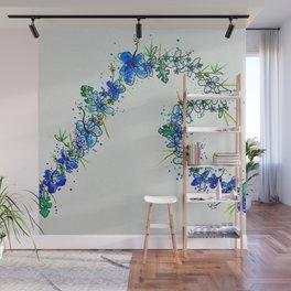 Lei curl Wall Mural