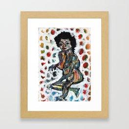 Knead Framed Art Print