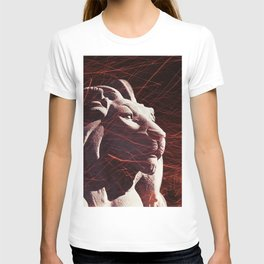 The lion, the eye and the stone T-shirt