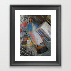 party mary. Framed Art Print