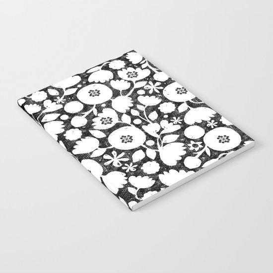 clear cut flowers Notebook