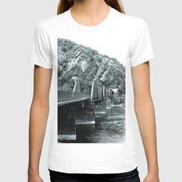 Harpers Ferry Railroad Bridge T-shirt