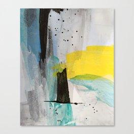 Misty Sunny Morning Canvas Print