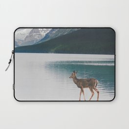 Bowman Lake Visitor Laptop Sleeve