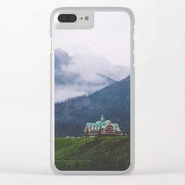 Waterton Fog Clear iPhone Case