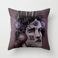 gamer Throw Pillows featuring Gamer  by Art is Vast