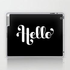 Hello Lettering Laptop & iPad Skin