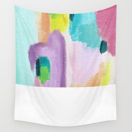 Abstract in Pastel Wall Tapestry